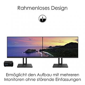 MSI PRO MP271QPDE 69cm (27 Zoll) IPS LED Monitor (16:9, WQHD (2560x1440), HDMI, DisplayPort, Verstellbar, Anti-Glare Display, Weniger Blaulicht, Rahmenlos) - 7