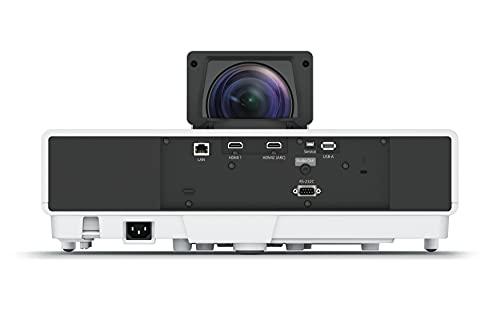 Epson EH-LS500B Android TV-Edition 4K Pro-UHD Ultrakurzdistanz-Laserprojektor (4.000 Lumen, Kontrastverhältnis 2.500.000:1, WiFi, HMDI) schwarz - 4